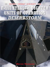 F-117 Stealth Fighter Units in Operation Desert Storm Cover