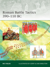 Roman Battle Tactics 390-110 BC Cover