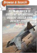 AV-8B Harrier II Units of Operations Desert Shield and Desert Storm