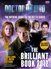 The Brilliant Book Of Doctor Who 2012 Cover