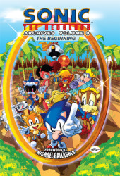 Sonic the Hedgehog Archives 0 Cover