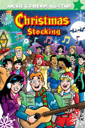 Archie's Christmas Stocking Cover