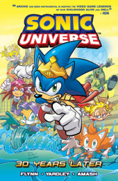 Sonic Universe 2: 30 Years Later Cover