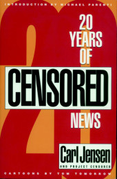 20 Years of Censored News Cover