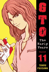 GTO: The Early Years Volume 11 Cover