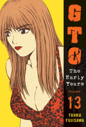 GTO: The Early Years, Volume 13 Cover