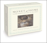 Monet at Home, A Postcard Book