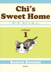 Chi's Sweet Home, volume 1 Cover
