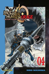 Monster Hunter Orage 4 Cover