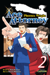 Phoenix Wright: Ace Attorney 2 Cover