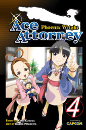 Phoenix Wright: Ace Attorney 4 Cover