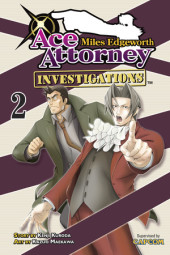 Miles Edgeworth: Ace Attorney Investigations 2 Cover