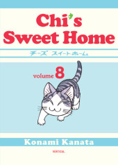 Chi's Sweet Home, volume 8 Cover