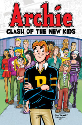 Archie: Clash of the New Kids Cover