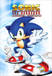 Sonic the Hedgehog Archives 19 Cover