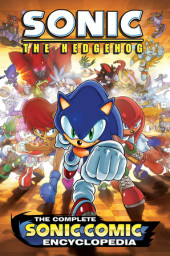 The Complete Sonic the Hedgehog Comic Encyclopedia Cover
