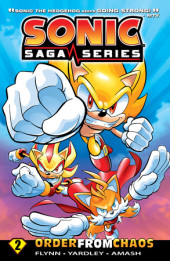 Sonic Saga Series 2: Order from Chaos Cover