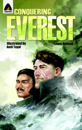 Conquering Everest: The Lives of Edmund Hillary and Tenzing Norgay Cover