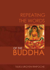 Repeating the Words of the Buddha Cover