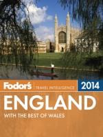 Fodor's England 2014