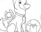 Bolt Coloring Page