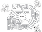 Monsters, Inc. Boo Maze