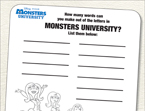 Monsters, Inc. Word Maker