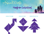 The Never Girls Tangram Puzzles