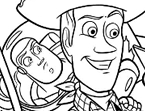 Woody & Buzz Coloring Page