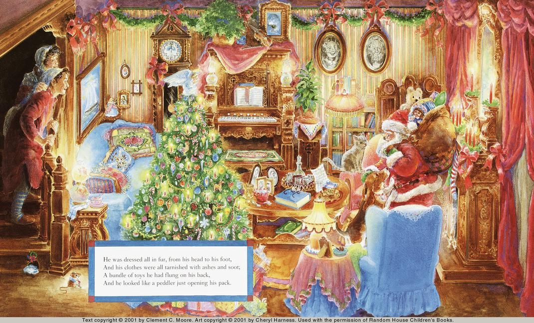 Book Twas The Night Before Christmas