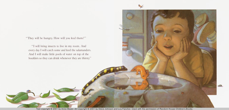 The Salamander Room Book