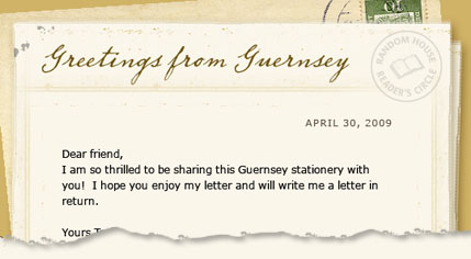 Guernsey stationery