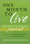 One Month to Live Devotional Journal