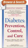 Diabetes: Prevention, Control, and Cure