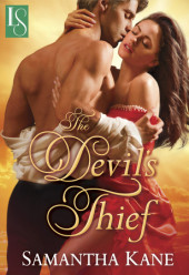 Alasdair & Julianna star in THE DEVIL'S THIEF – on sale now + 5 print copy giveaway!