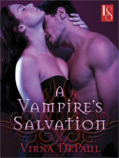New Release:  A Vampire's Salvation by Virna DePaul + Sneak Peek!