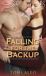 #NewRelease!  On sale today, Falling for the Backup by Toni Aleo + 10 book Giveaway!!