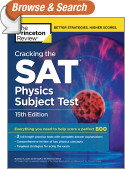 Cracking the SAT Physics Subject Test, 15th Edition