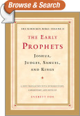 The Early Prophets: Joshua, Judges, Samuel, and Kings