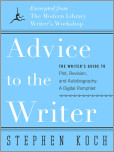 Advice to the Writer