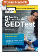 5 Practice Exams for the GED Test, 2nd Edition