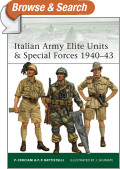 Italian Army Elite Units and Special Forces 1940-43