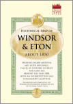 Historical Map of Windsor and Eton 1860