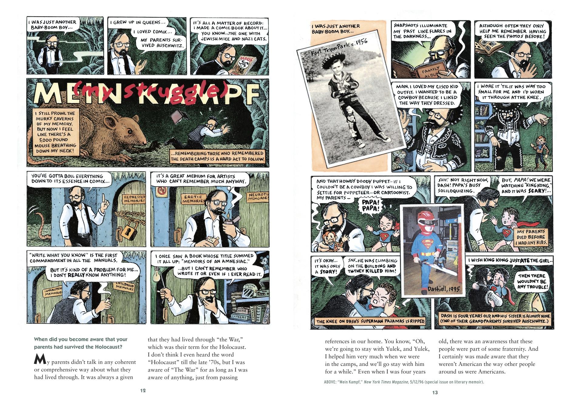 Art Spiegelman's METAMAUS
