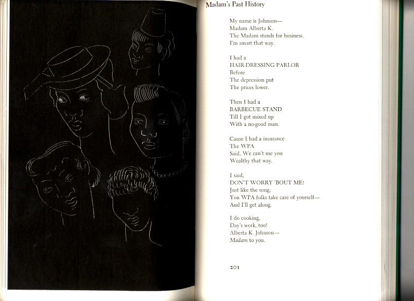 What emotions is Langston Hughes trying to evoke in